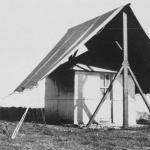 La capanna in Eritrea dove Bruno Rossi svolse gli esperimenti nel 1933