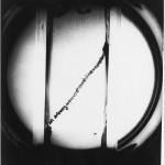Prima fotografia in Europa di un raggio cosmico nella camera a bolle di Padova, 1955