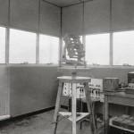 Supporto alt-azimutale nella Torre dell'Istituto di Fisica
