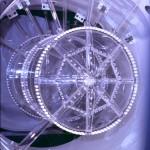 La Time Projection Chamber di MUNU montata alla Centrale  Nucleare di Bugey