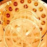 La TPC di MUNU con un piano di fotomoltiplicatori