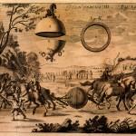 L'esperimento di Otto Von Guericke a  Magdeburgo, Von Guericke, 1672