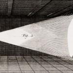 Proiezione con la lanterna magica, 's Gravesande, 1720