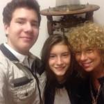 Mitico selfie con la pompa pneumatica a due cilindri ( Guido Bertirossi, Bianca Bertirossi, Barbara Vaudano)