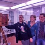 Un selfie d'altri tempi! Purtroppo l'originale è ancora nella camera oscura (Francesca De Gol, Alessandro Bresolin, Stefano Farinella)
