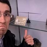 Orientiamoci al museo.. Ah ok.. Emoticon frown  #selfiealmuseo (Matteo Osti)